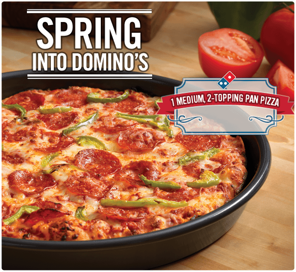 Spring Into Domino's