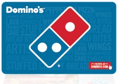 Order Gift Cards & eGift Cards from Dominos for Pizza, Pasta, & Wings