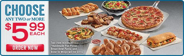 Dominos online specials coupons