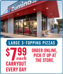 All Day. Every Day. Carryout Deal