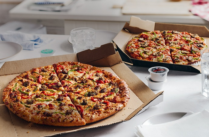 carryout deal large two toppings 599 each - Pizza Delivery On Christmas Day