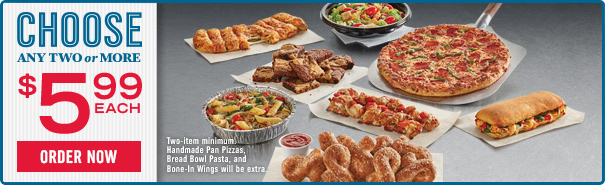 Dominos pizza coupons near me
