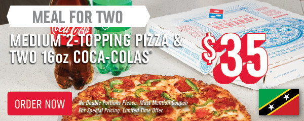 Is Dominos Open On Christmas.Domino S Pizza St Kitts Order Pizza Online For Delivery