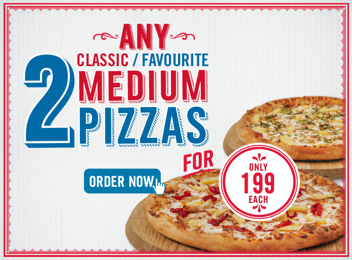 Order Pizzas Online Free And Fast Pickup Or Home Delivery