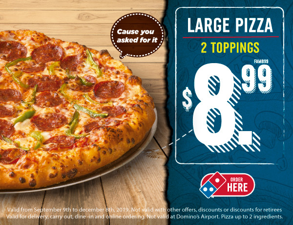 Domino S Pizza Panama Order Online Dominospanama Com