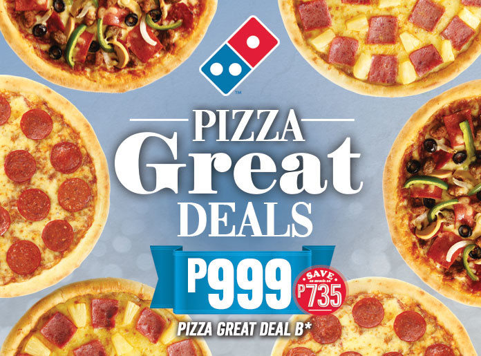 The Pizza Delivery Expert Domino S Pizza Philippines