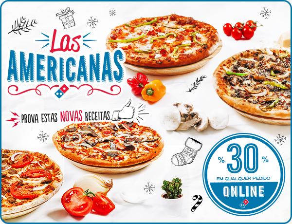 Novas Pizzas American Legends
